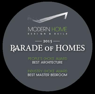 Modern Home Design & Build | 2015 Parade of Homes