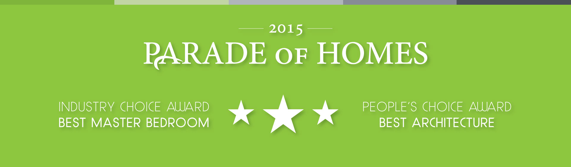 Modern Home Design & Build 2015 Parade of Homes Winner