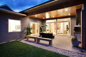 Modern Home Design and Build Patio 1